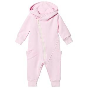 Gugguu Girls All in ones Pink College Jumpsuit Fragrant Lilac/White Smove
