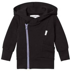 Gugguu Unisex Jumpers and knitwear Black College Hoodie Black/Ice Blue