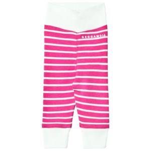 Geggamoja Girls Bottoms Pink Premature Baby Pant Cerise/Mint