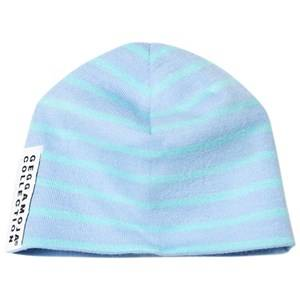 Geggamoja Boys Headwear Blue Premature Baby Hat Light Blue/Turquoise
