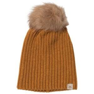 Huttelihut Unisex Headwear Curry Knithut Rib Hat Curry