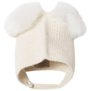 Huttelihut Unisex Headwear Off white Crocheted Hat Off white