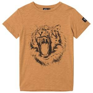 Petit by Sofie Schnoor Unisex Tops Orange Tee Short Sleeve Rust