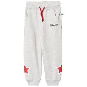 The BRAND Boys Private Label Bottoms Grey Star Sweatpants Grey Melange