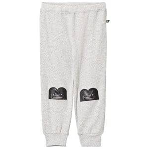 The BRAND Unisex Private Label Bottoms Grey Baby Face B-Moji Pants Grey