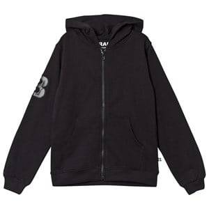The BRAND Boys Private Label Jumpers and knitwear Black City Hoodie Black