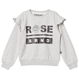 The BRAND Girls Private Label Jumpers and knitwear Grey Rose Terry Sweatshirt Grey