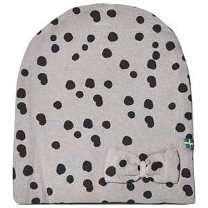 The BRAND Unisex Private Label Headwear Grey Bow Hat Grey Dot