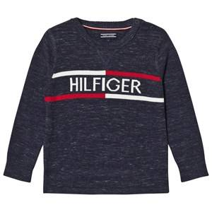 Tommy Hilfiger Boys Jumpers and knitwear Navy Navy Branded Sweater