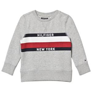 Tommy Hilfiger Boys Jumpers and knitwear Grey Grey Branded Sweatshirt