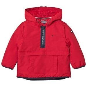 Tommy Hilfiger Boys Coats and jackets Red Red Branded Anorak