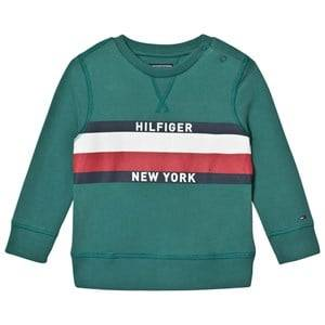 Tommy Hilfiger Boys Jumpers and knitwear Green Green Branded Sweatshirt