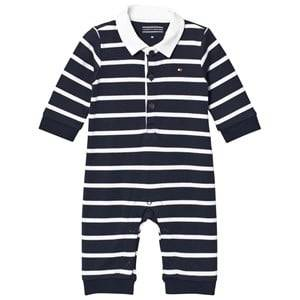 Tommy Hilfiger Boys All in ones Navy Navy Big Stripe Baby One-Piece