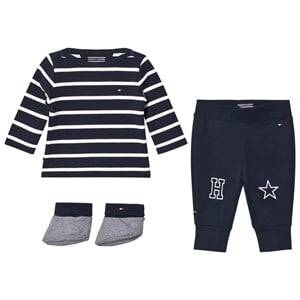 Tommy Hilfiger Boys Clothing sets Navy Navy Big Stripe 3 Piece Outfit Set