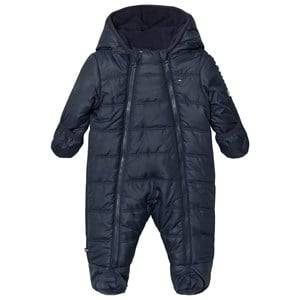 Tommy Hilfiger Unisex Coveralls Navy Navy Baby Ski Suit Coverall