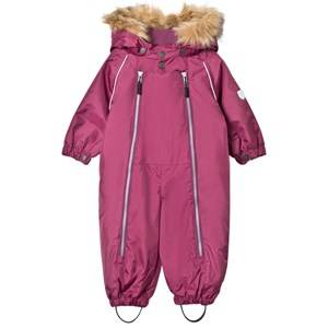 Ticket to heaven Girls Coveralls Purple Snowsuit with Detachable Hood Amaranth