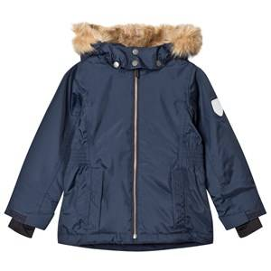 Ticket to heaven Girls Coats and jackets Navy Jacket Maren with Detachable Hood Total Eclipse
