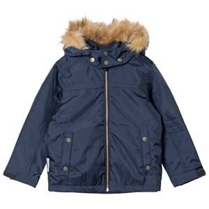 Ticket to heaven Unisex Coats and jackets Navy Jacket Mack with Detachable Hood Total Eclipse