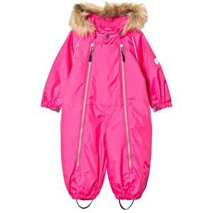 Ticket to heaven Girls Coveralls Purple Snowsuit with Detachable Hood Beetroot Purple