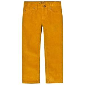 Lands End Boys Bottoms Dried Mustard 5 Pocket Corduroy Trousers