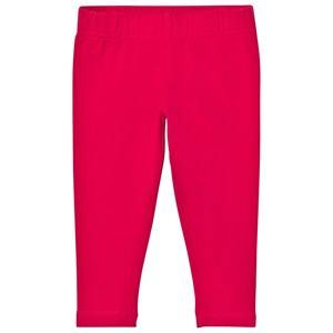 Lands End Girls Bottoms Pink Hot Pink Ankle Leggings