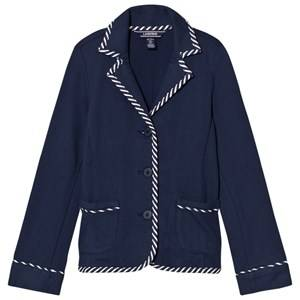 Image of Lands End Girls Coats and jackets Navy Navy Knit Blazer