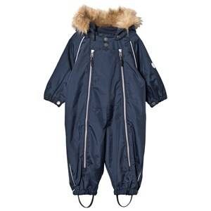 Ticket to heaven Unisex Coveralls Navy Snowsuit with Detachable Hood Total Eclipse