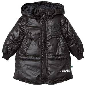 The BRAND Unisex Private Label Coats and jackets Black Puff Parka Shiny Black