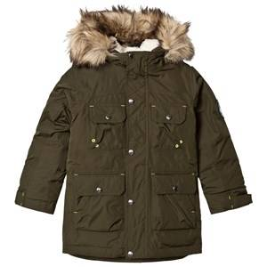 Lands End Boys Coats and jackets Green Dark Green Expedition Down Parka