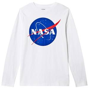 Lands End Boys Tops White White Nasa Graphic Tee