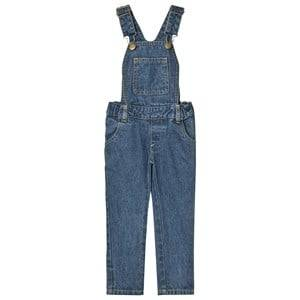 Tootsa MacGinty Unisex All in ones Blue Blue Denim Slim Fit Dungarees