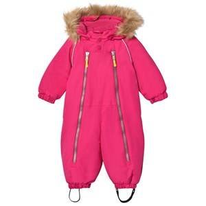 Ticket to heaven Girls Coveralls Purple Snowsuit Baggie with Detachable Hood Beetroot Purple