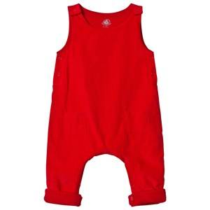 Petit Bateau Unisex All in ones Red Dungarees Red
