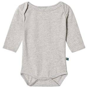 The BRAND Boys Private Label All in ones Grey Bolt Baby Body Grey Melange