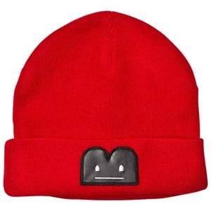 The BRAND Unisex Private Label Headwear Red B-Moji Knit Hat Red