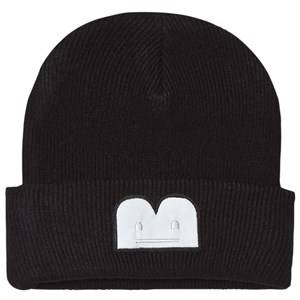 The BRAND Unisex Private Label Headwear Black B-Moji Knit Hat Black