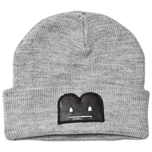 The BRAND Unisex Private Label Headwear Grey B-Moji Knit Hat Grey
