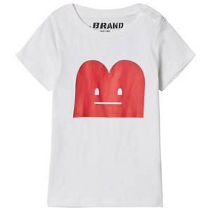 The BRAND Unisex Private Label Tops White B-Moji Tee White