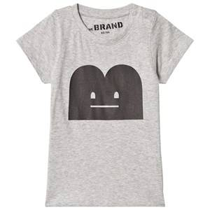 The BRAND Unisex Private Label Tops Grey B-Moji Tee Grey Melange