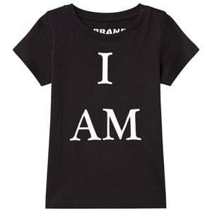 The BRAND Unisex Private Label Tops Black I Am Tee Black