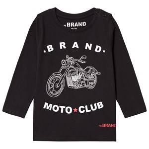 The BRAND Boys Private Label Tops Black Moto Club Tee Black