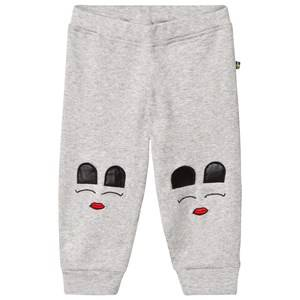 The BRAND Unisex Private Label Bottoms Grey Baby Face Pants Grey