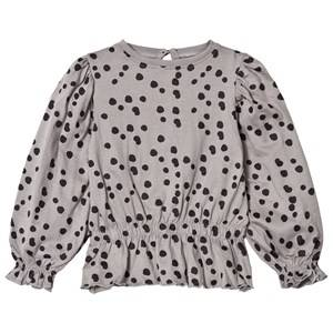 The BRAND Girls Private Label Tops Grey Princess Top Grey Dot
