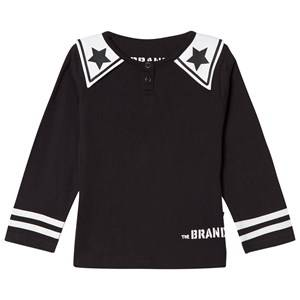 The BRAND Girls Private Label Tops Black Dream Collar Tee Black