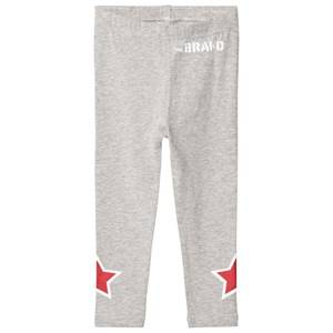 The BRAND Girls Private Label Bottoms Grey Star Legging Grey Melange