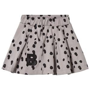 The BRAND Girls Private Label Skirts Grey Plisé Skirt Grey Dot