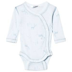 Joha Unisex All in ones Blue Baby Body Side Closing Blue
