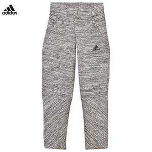 adidas Performance Girls Bottoms Grey Girls Grey Zone Sweatpants