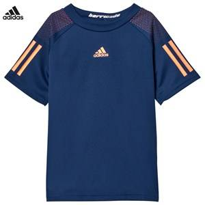 adidas Performance Boys Tops Navy Navy Barricade Tennis Tee