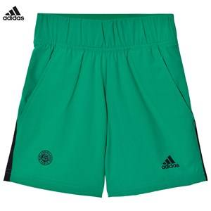 adidas Performance Boys Shorts Green Green Roland Garros Tennis Shorts